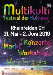MultiKulti Festival der Kulturen vom 31. Mai - 2. Juni 2019