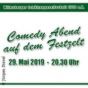 Comedy Show bei den Wilmsberger Schützen