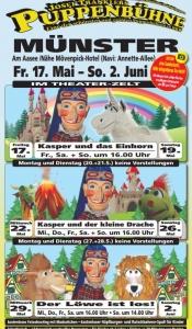 Josef Tränklers Puppenbühne gastiert vom 17.5. - 2.6.2019 in Münster