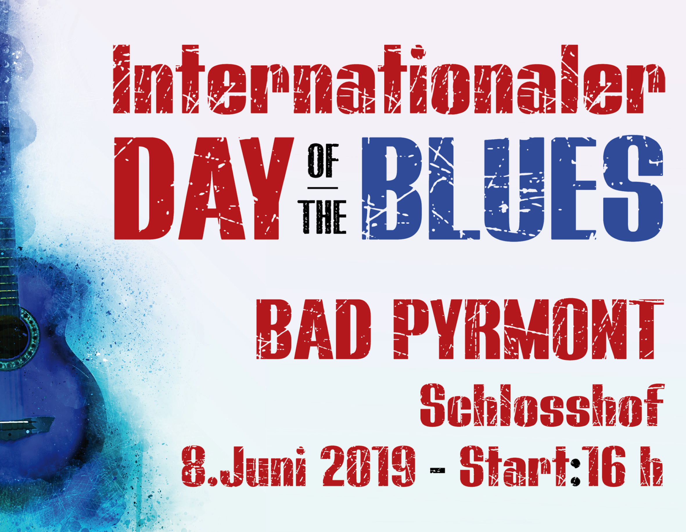 Internationaler Day of the Blues