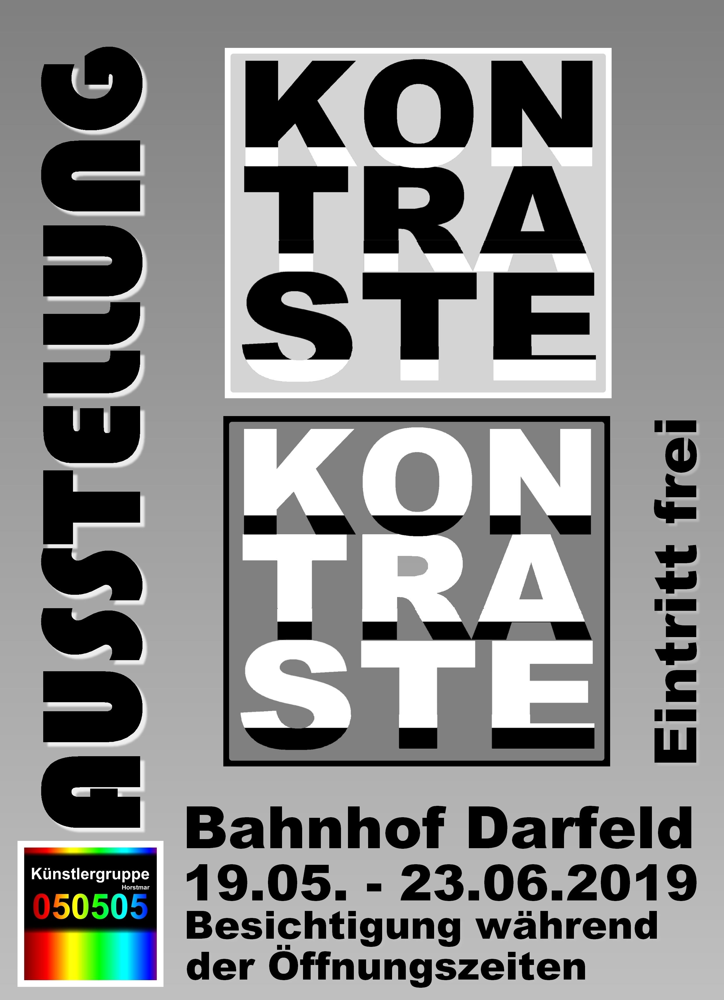 """Kunstausstellung """"Kontraste"""""""