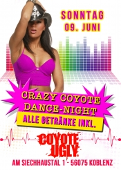 Crazy Coyote Party Night - ALL drinks inkl.