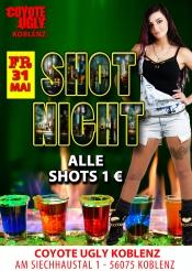 Shot Night - 1€ die ganze Nacht