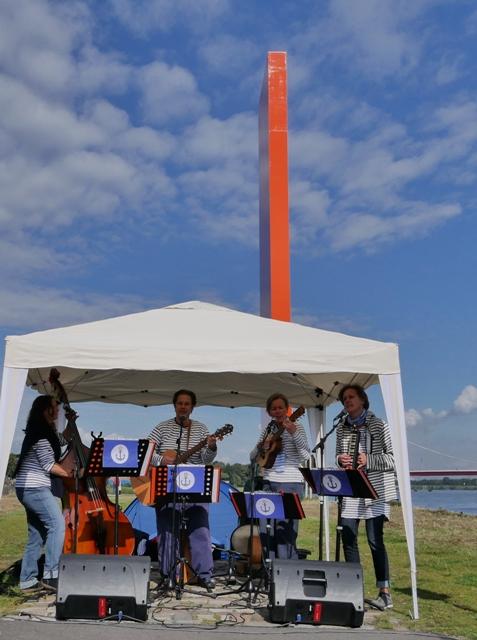 Live-Musik mit den Ruhrorangen