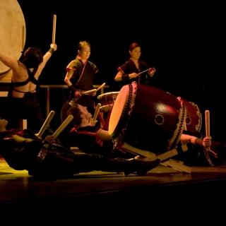 Japanisches Trommel Konzert  Masa Daiko