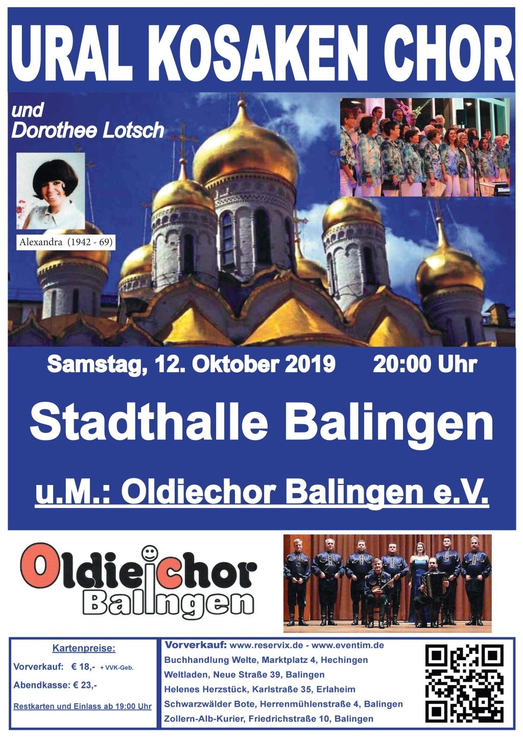 Ural Kosaken Chor & Dorothee Lotsch & Oldiechor Balingen