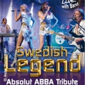 Swedish Legend - Absolut Abba Tribute - Special Guest: Harpo (Moviestar)