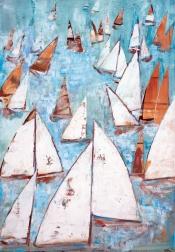 Windrichtung Einzelausstellung mit Werken von Monika Krömer