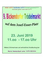 9. Bickendorfer Trödelmarkt