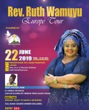 Rev. Ruth Wamuyu Europe Tour