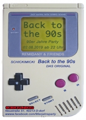 Back To The 90s - 90er Jahre Party