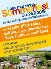 Loss mer singe Sommerfest
