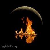 Neumond Meditation und Ritual am Feuer