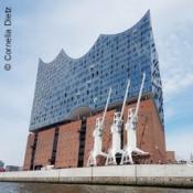 Elbphilharmonie - Plaza und HafenCity