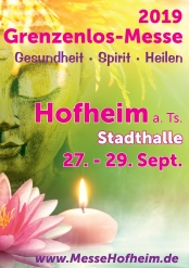 """16. Grenzenlos-Messe """"Gesundheit · Spirit · Heilen"""""""