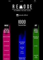 Remode | art exhibition - live music - dj sets