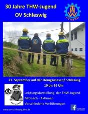30 Jahre THW Jugend OV Schleswig