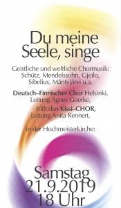 Deutsch-Finnischer Chor in der Hochmeisterkirche – Internationales Konzert