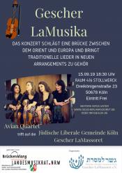 Gescher LaMusika & Avian Quartet