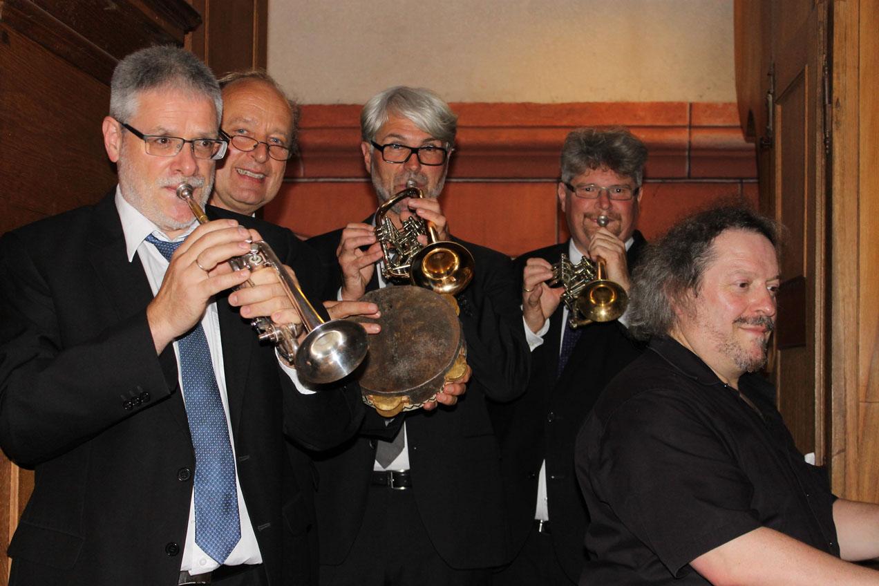 Rauenberger Abendmusik - Tönet, Ihr Pauken! Erschallet, Trompeten!