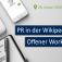 """Workshop: """"Wikipedia für die Öffentlichkeitsarbeit"""""""