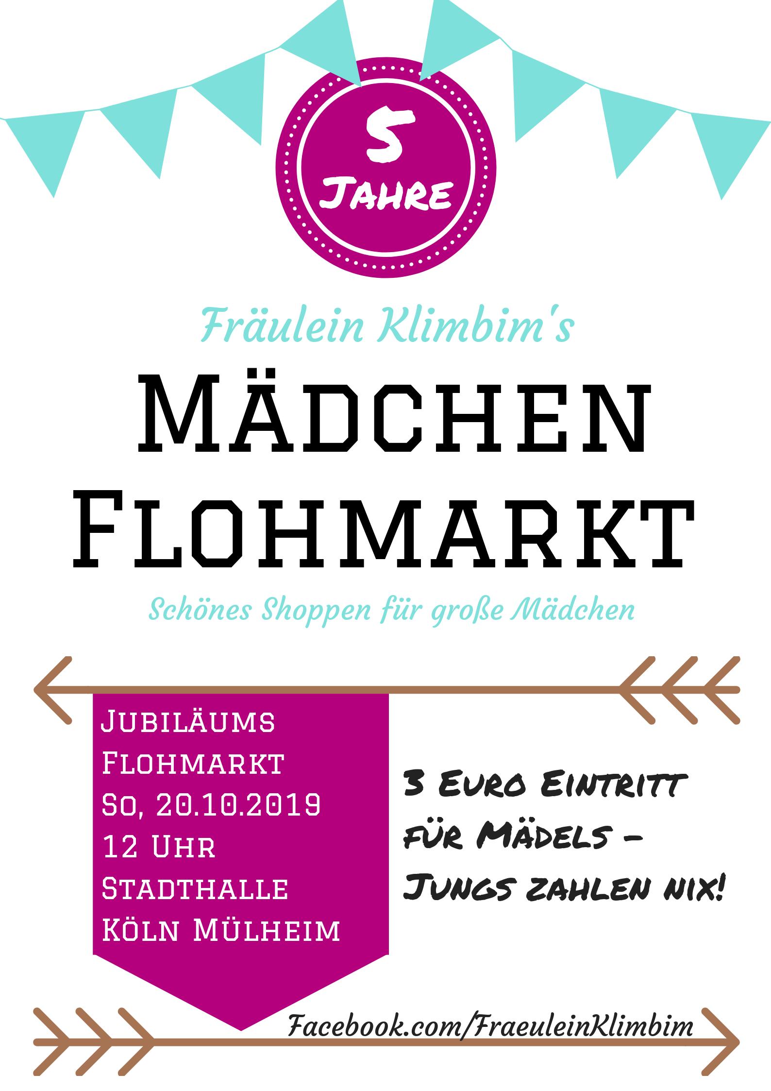 5 Jahre Fräulein Klimbim's Mädchen-Flohmarkt