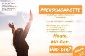 Maria 2.0: Menschenkette um den Kölner Dom