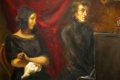 """MAN BEWUNDERT SIE. GEORGE.""""__Chopin-Sand-Soirée"""
