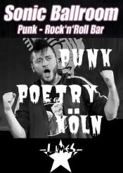 Poesiekrieg - Der Poetry Slam im Sonic Ballroom