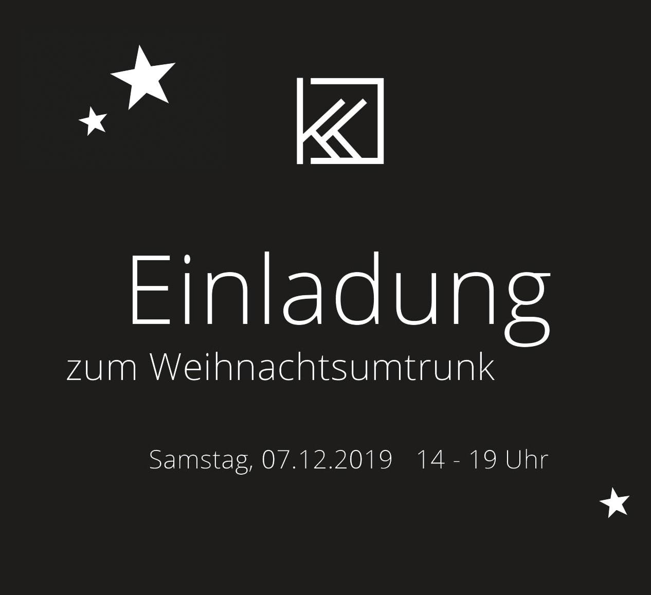 Einladung zum Weihnachtsumtrunk