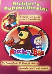 Richter´s Puppentheater präsentiert: Mascha und der Bär