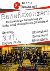Benefizkonzert der Brass Band BlechBrasserie