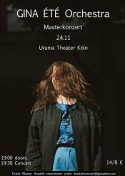 GINA ÉTÉ orchestra  - Masterkonzert