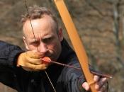 Mittelalter Feeling auf Rittergut Orr bei Pulheim beim Bogenschießen