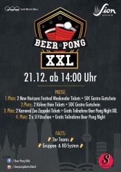 Beer Pong Night Xxl | Sa 21.12. Live Music Hall