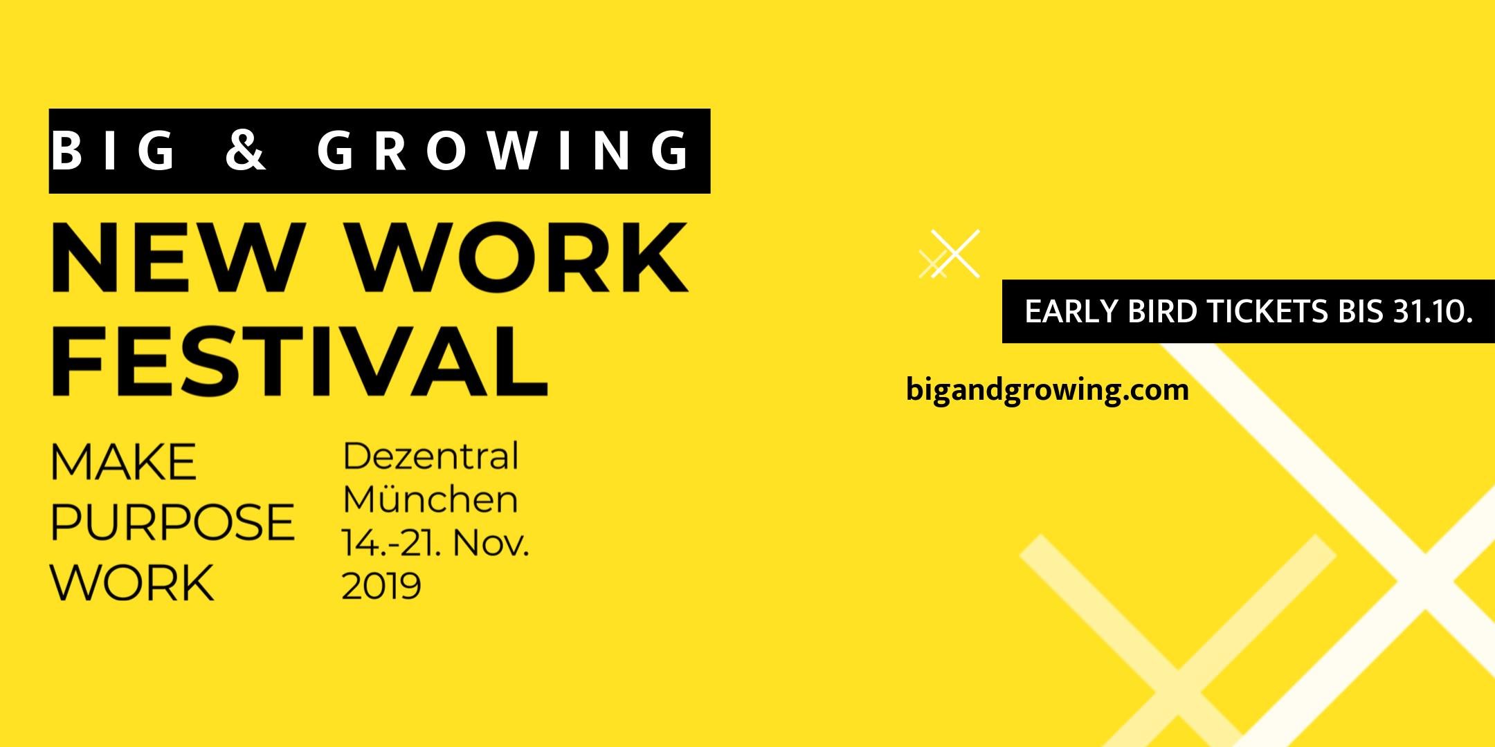 Big & Growing New Work Festival