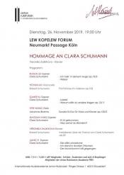 Zum 200. Geburtstag von Clara Schumann