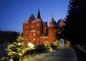 Mittelalterliche Burg Satzvey wird zum Weihnachtsparadies an allen Adventswochenenden