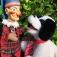 Puppentheater auf dem Moerser Weihnachtsmarkt mit neuem Stück: