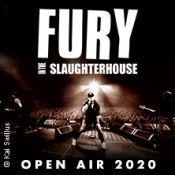 Fury In The Slaughterhouse Support Amphitheater Open Air 2020 - Zusatzshow