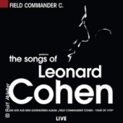 The Songs of Leonard Cohen performed by Field Commander C.