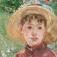 Camille Pissarro: Blühende Pflaumenbäume in Éragny. Das Haus des Künstlers