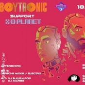 Boytronic support and aftershow
