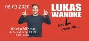 Auf der RheinBühne: Lukas Wandke