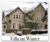 Villa im Winter