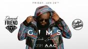 Gims Club Show & Aftershow Party Am 24.01.2020 @rudas Studios