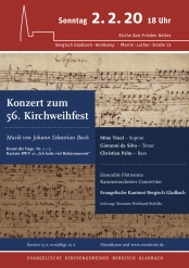 Konzert zum 56. Kirchweihfest - Musik von Johann Sebastian Bach