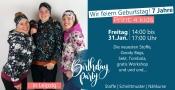Stoffladen Geburtstagsparty Print4kids, Stoffe - Schnittmuster - Nähkurse