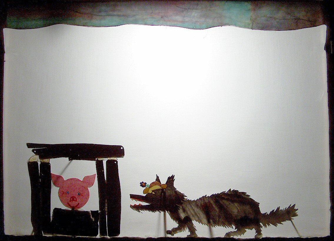 Zilli, Billi, Willi - die drei Schweinchen