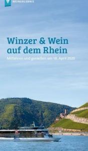 Winzer und Wein auf dem Rhein